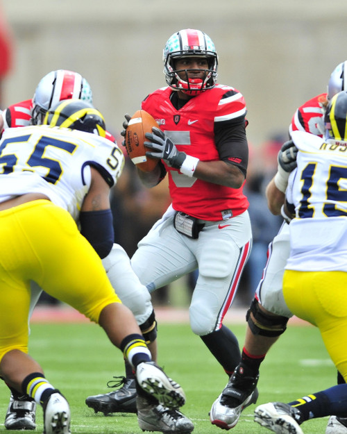 Braxton Miller Ohio State Buckeyes Licensed Unsigned Photo (4)