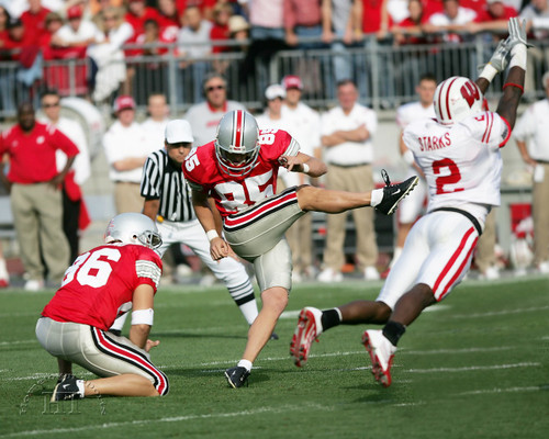 Mike Nugent Ohio State Buckeyes Licensed Unsigned Photo (3)