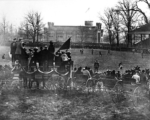 Ohio Field 1901 vs Michigan Ohio State Buckeyes Licensed Unsigned Photo