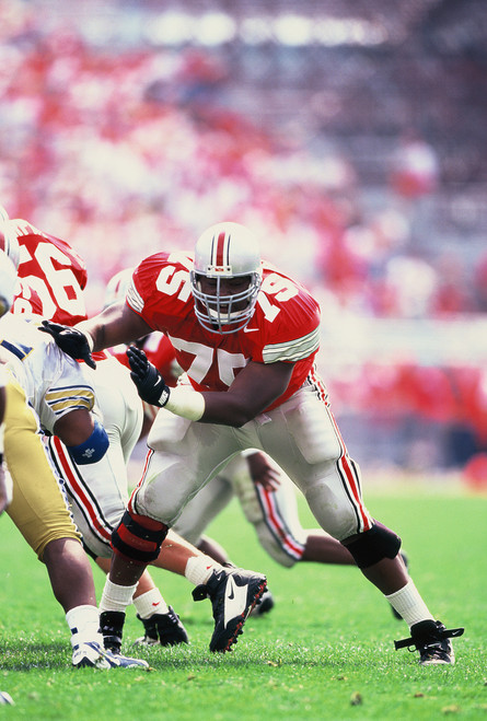 Orlando Pace Ohio State Buckeyes Licensed Unsigned Photo