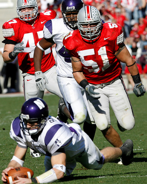 Anthony Schlegel Ohio State Buckeyes Licensed Unsigned Photo