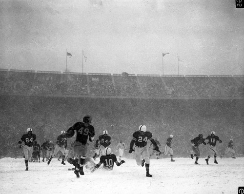 1950 Snow Bowl Ohio State Buckeyes Licensed Unsigned Photo