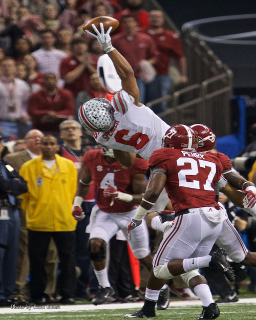Evan Spencer Catch Ohio State Buckeyes Licensed Unsigned Photo