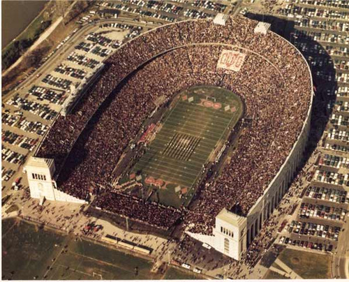 1970 Stadium vs Michigan Ohio State Buckeyes Licensed Unsigned Photo