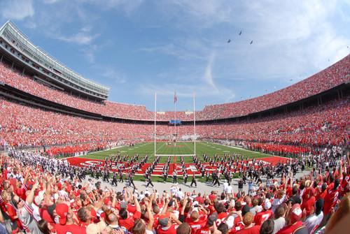 2011 Stadium Ohio State Buckeyes Licensed Unsigned Photo