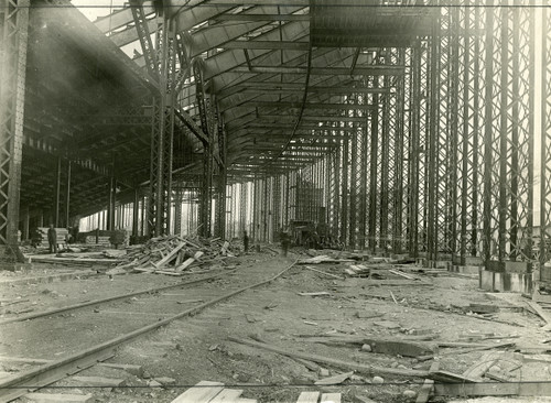 1922 Stadium Construction Ohio State Buckeyes Licensed Unsigned Photo (3)