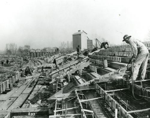 1922 Stadium Construction Ohio State Buckeyes Licensed Unsigned Photo (5)