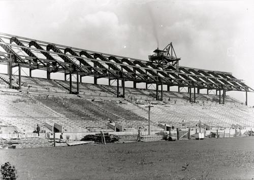 1922 Stadium Construction Ohio State Buckeyes Licensed Unsigned Photo (6)