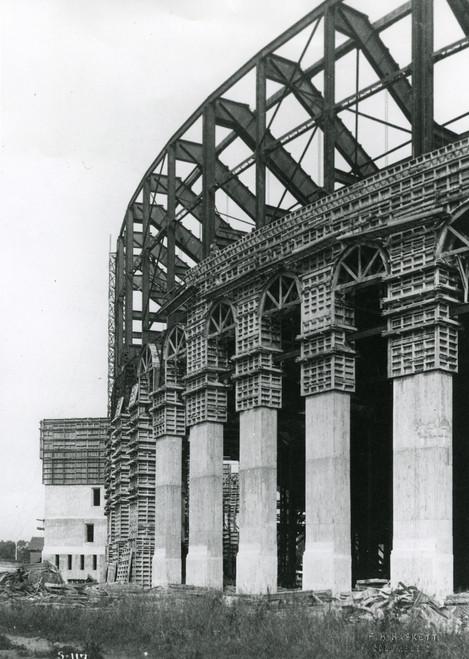 1922 Stadium Construction Ohio State Buckeyes Licensed Unsigned Photo (7)