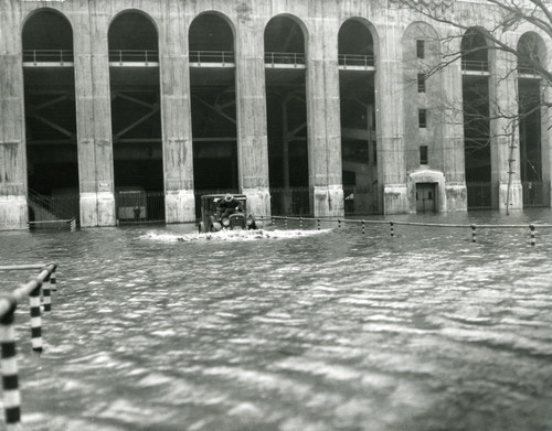 1927 Stadium Flood Ohio State Buckeyes Licensed Unsigned Photo