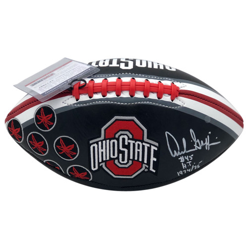Archie Griffin Ohio State Buckeyes Autographed Black Football - PSA Authentic