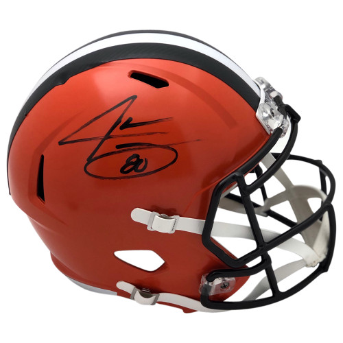 Jarvis Landry Cleveland Browns Autographed Replica Helmet - Certified Authentic