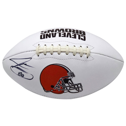 Jarvis Landry Cleveland Browns Autographed White Panel - Certified Authentic
