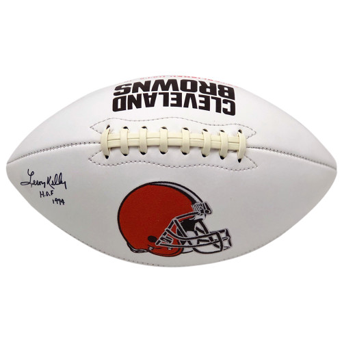 Leroy Kelly Cleveland Browns Autographed White Panel - PSA Authentic