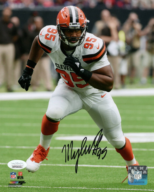PSA Authentic Nick Chubb Cleveland Browns 8-2 8x10 Autographed Signed Photo