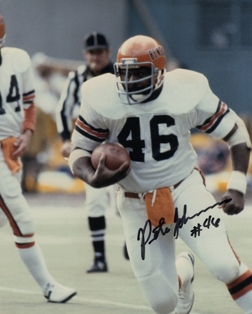 Pete Johnson Cincinnati Bengals 8-2 8x10 Autographed Photo - Certified Authentic