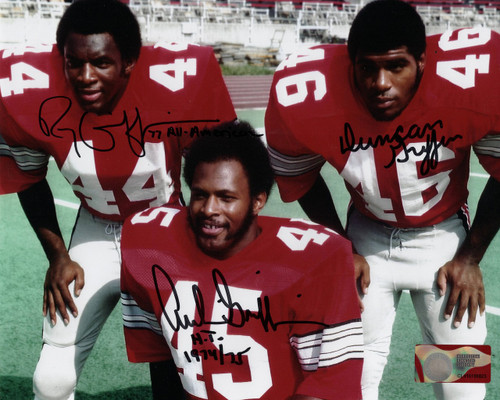 Archie, Ray & Duncan Griffin Ohio State Buckeyes 8-1 8x10 Autographed Photo - Certified Authentic