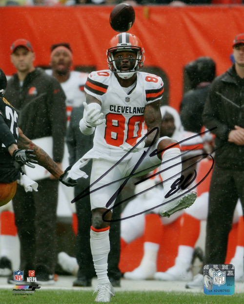 Jarvis Landry Cleveland Browns 8-2 8x10 Autographed Photo - Certified Authentic