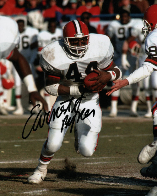 Earnest Byner Cleveland Browns 8-2 8x10 Autographed Photo - Certified Authentic