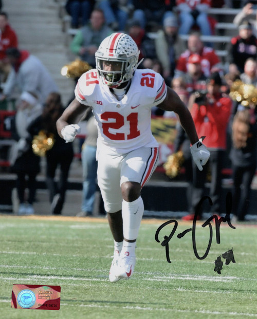 Parris Campbell Ohio State Buckeyes 8-2 8x10 Autographed Photo - Certified Authentic