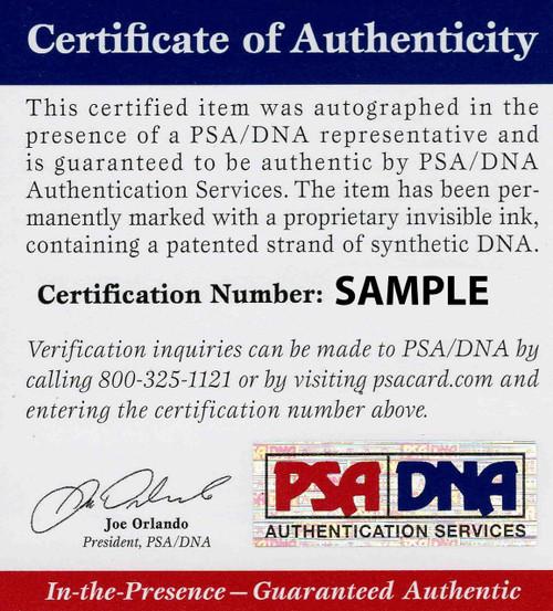 Denzel Ward Cleveland Browns Autographed 20x24 Canvas c-3 - PSA Authentic