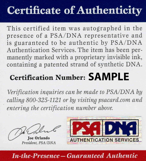 Denzel Ward Cleveland Browns Autographed Jersey - PSA Authentic