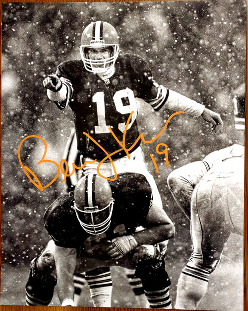 Bernie Kosar Cleveland Browns 16-1 16x20 Autographed Photo - Certified Authentic