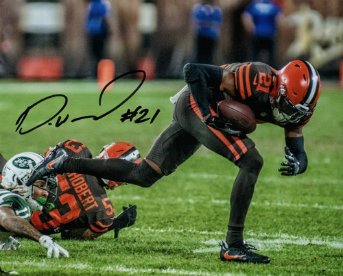Denzel Ward Cleveland Browns 16-4 16x20 Autographed Photo - Certified Authentic