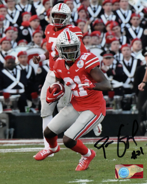 Parris Campbell Ohio State Buckeyes 16-1 16x20 Autographed Photo - Certified Authentic