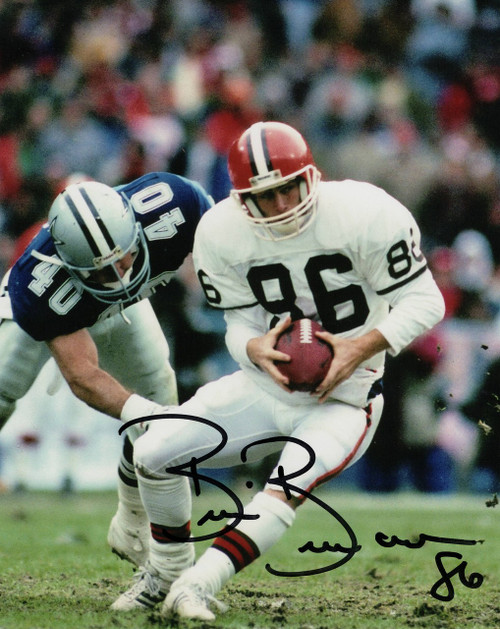 Brian Brennan Cleveland Browns 16-3 16x20 Autographed Photo - Certified Authentic