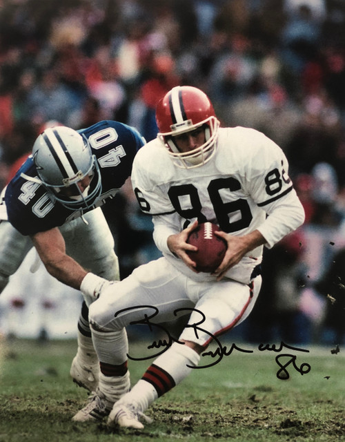 Brian Brennan Cleveland Browns 11-3 11x14 Autographed Photo - Certified Authentic