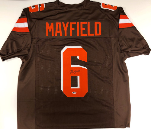 new concept a8f3c 5523f Baker Mayfield Cleveland Browns Autographed Jersey - Beckett COA