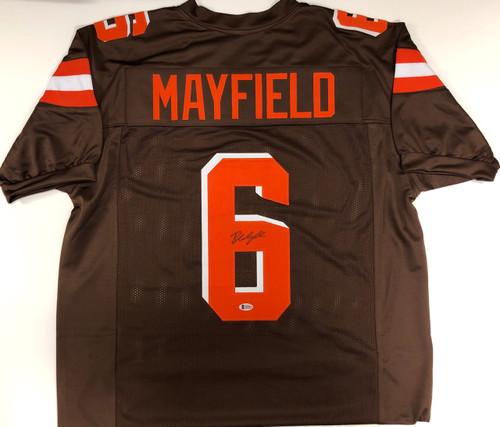 new concept 00af7 af5c0 Baker Mayfield Cleveland Browns Autographed Jersey - Beckett COA