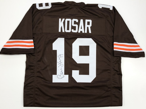 finest selection 4544c d8707 Bernie Kosar Cleveland Browns Autographed Jersey - Certified Authentic