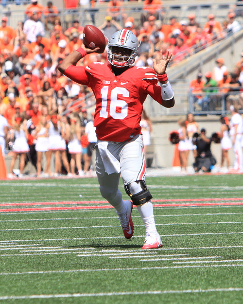 JT Barrett Ohio State Buckeyes Licensed Unsigned Photo