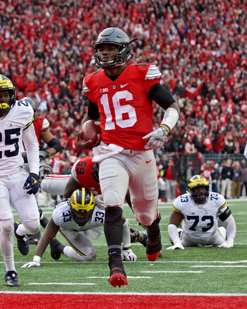 JT Barrett Ohio State Buckeyes Licensed Unsigned Photo (3)