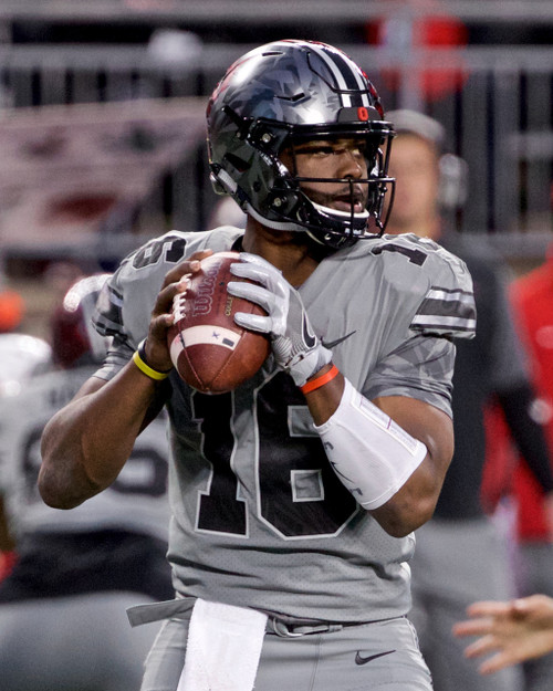 JT Barrett Ohio State Buckeyes Licensed Unsigned Photo (4)