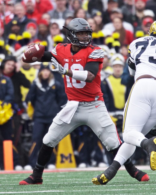 JT Barrett Ohio State Buckeyes Licensed Unsigned Photo (6)