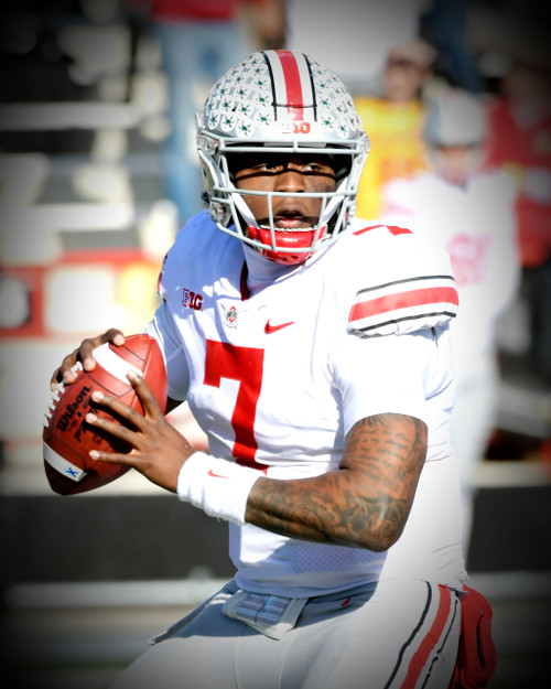 Dwayne Haskins Ohio State Buckeyes Licensed Unsigned Photo (4)