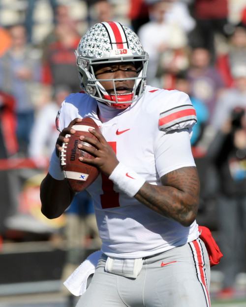 Dwayne Haskins Ohio State Buckeyes Licensed Unsigned Photo (5)
