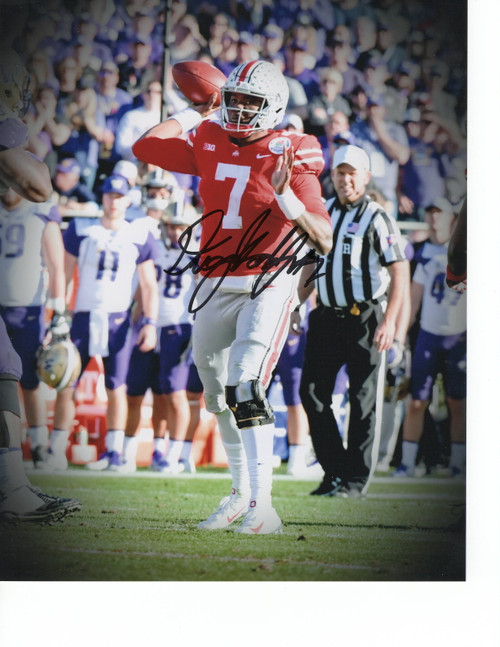 Dwayne Haskins Ohio State Buckeyes 8-2 8x10 Autographed Photo - Certified Authentic