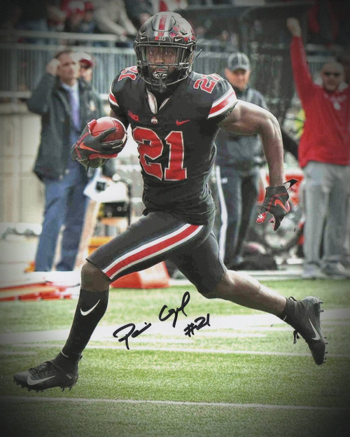 Parris Campbell Ohio State Buckeyes 16-2 16x20 Autographed Photo - Certified Authentic