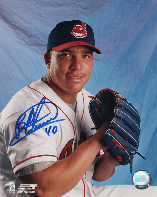 Bartolo Colon Cleveland Indians 8-5 8x10 Autographed Photo - Certified Authentic