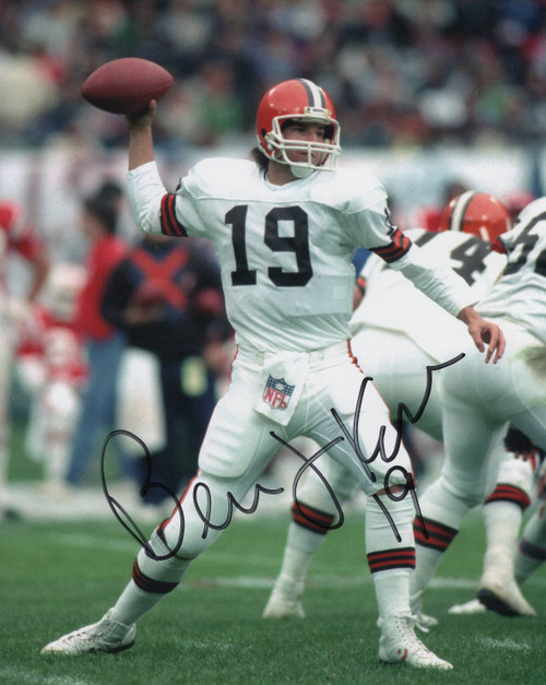 Bernie Kosar Cleveland Browns 8-5 8x10 Autographed Photo - Certified Authentic