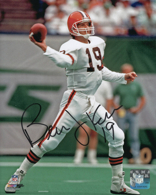 Bernie Kosar Cleveland Browns 8-4 8x10 Autographed Photo - Certified Authentic