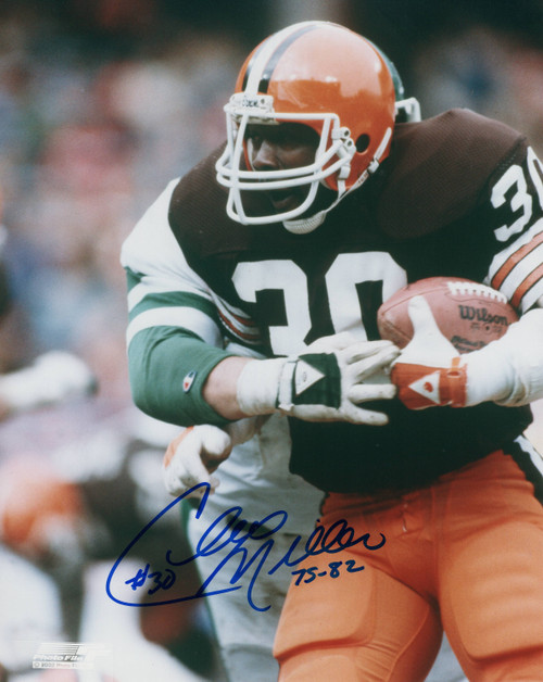 Cleo Miller Cleveland Browns 8-2 8x10 Autographed Photo - Certified Authentic