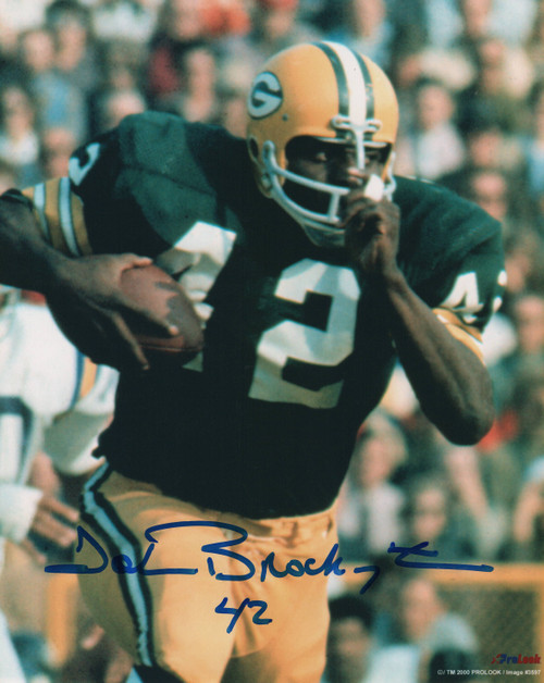John Brockington Green Bay Packers 8-6 8x10 Autographed Photo - Certified Authentic