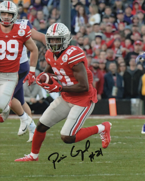 Parris Campbell Ohio State Buckeyes 8-5 8x10 Autographed Photo - Certified Authentic