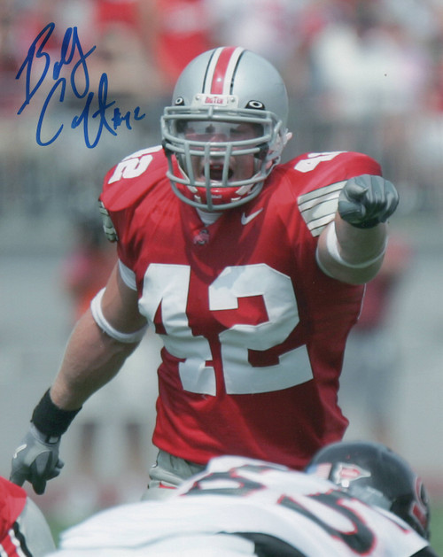 Bobby Carpenter Ohio State Buckeyes 8-1 8x10 Autographed Photo - Certified Authentic