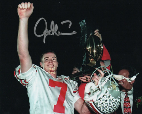 Joe Germaine Ohio State Buckeyes 8-3 8x10 Autographed Photo - Certified Authentic